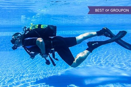 PADI Discover Scuba Diving Experience or Referral Course at Robin Hood Watersports