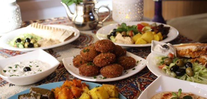 Moroccan Mezze Platter to Share and Appetiser for Two or Four at Kadas Lounge