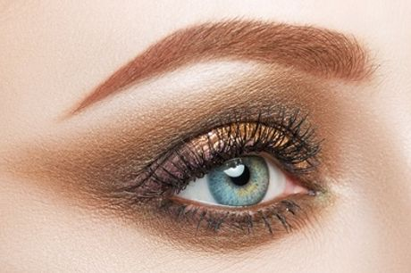 Eyelash or Eyebrow Tint with Optional Eyebrow or Full-Face Threading from Be Beautiful By Simran
