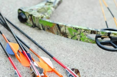 One-Hour Tag Archery Experience For Up to 12 at Activity Centre Blyth