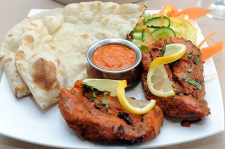 Two-Course Indian Meal with Sides for Up to Four from Aspects at The Plough Enderby