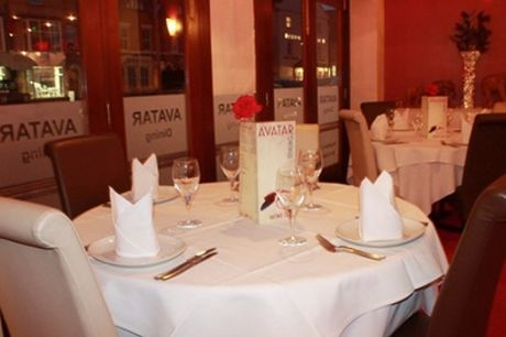 Three-Course Indian Meal with Rice and Naan for Two or Four at Avatar