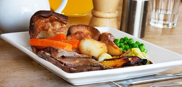 Two-Course Sunday Carvery With Wine For Two or Four at The Plough Inn