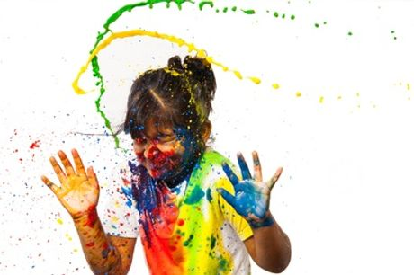 Splash of Colour Paint Photoshoot For at PGD Photography