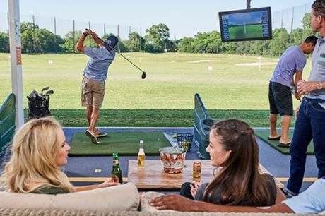 One Hour of Driving Range for Two Adults or Family of Four at Charnwood Golf Complex