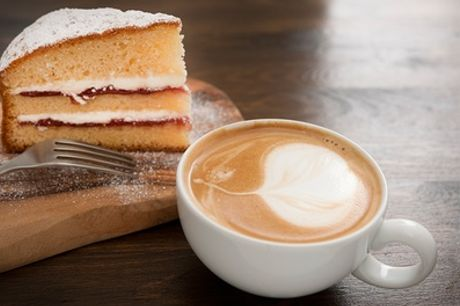 Cake and Coffee for Two or Four at Cafe Latino