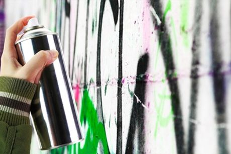 Graffiti Art Class with Take-Home Print For One or Two with Zap Graffiti Arts