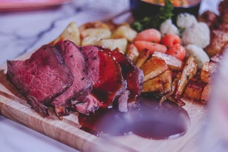 Two-Course Sunday Lunch for Two or Four at Liberté Restaurant and Cocktail Bar