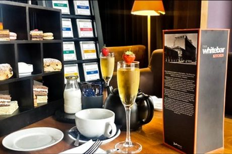 Afternoon Tea with Optional Glass of Prosecco for Two or Four at The White Bar at Radisson Blu Liverpool