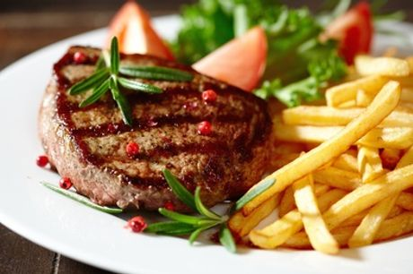 Steak Meal with Fries or a Salad for Two or Four at The Restaurant at Radisson Blu Liverpool