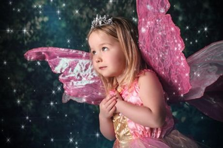 Children's Enchanted Fairy or Elf Photoshoot with Prints at Peekaboo
