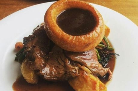 Two-Course Sunday Dinner for Two at Glasshouse Pub