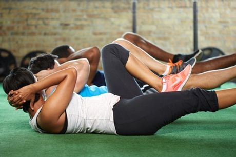 Five or Ten Bootcamp Classes or One-Month Membership at HC:Fit