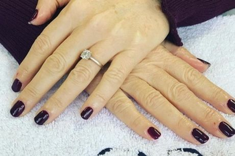 Shellac Manicure or Pedicure or Both at Indulge Tanning and Beauty