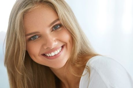 One-Hour Zoom Laser Teeth Whitening at Heart Winning Smile