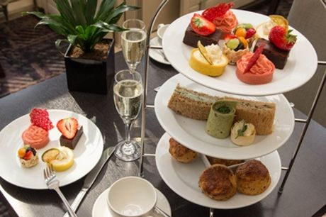 Choice of Afternoon Tea with Optional Prosecco for Two at Corus London Hyde Park (Up to 46% Off)