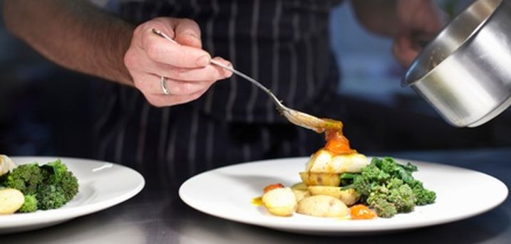 Two- or Three-Course Meal with a Glass of Wine for Two at Courthouse Hotel