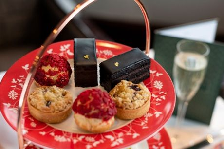 Afternoon Tea with Bubbly for Two at 4* Amba Hotel Marble Arch