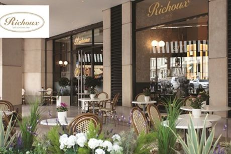 Two- or Three-Course Dinner with Prosecco for Two or Four at Richoux, Two Locations