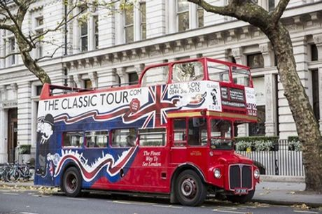 London Classic Bus Tour for Up to Four with The Ghost Bus Tours