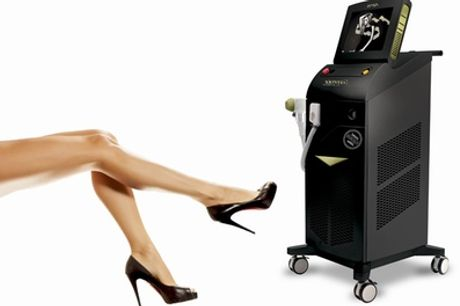 Six Sessions of Soprano ICE Platinum Laser Hair Removal on Choice of Area at Boutique Spa