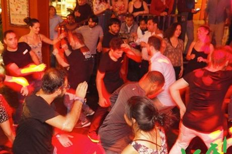 Up to Ten Salsa Classes at F K Dance, Two Locations