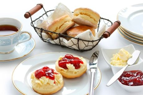 Afternoon Tea with Bubbly on a Weekday or Weekend for Two, Four or Six at Larkfield Priory Hotel