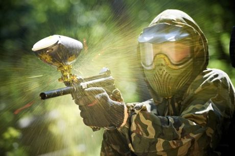 Day of Paintball with 100 Balls for Six or 12 at Outdoor Pursuits