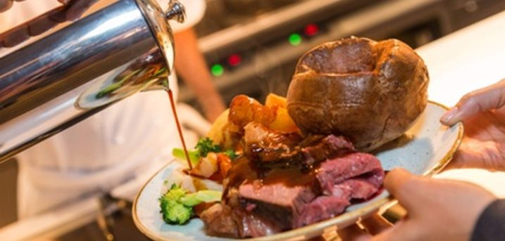 Sunday Roast for Two or Four at King George V
