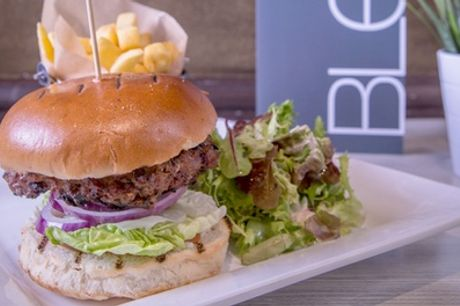 Burger, Side and Soft Drink for Up to Four at Blend Bar and Grill,
