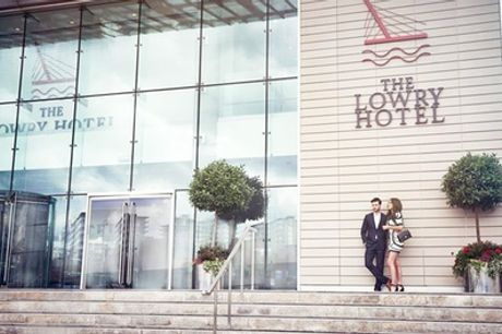 Spa Treatments and Bubbles with Optional Afternoon Tea for One or Two at The Lowry Hotel