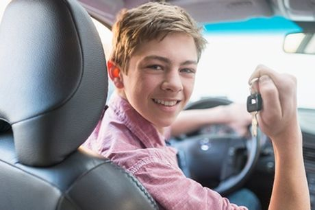 30- or 60-Minute Junior Driver Training Session with 1st Choice, Multiple Locations (Up to 5% Off)