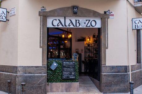 Menú de Segundo o Primer Grado para 2 personas en Calabozo Restaurante