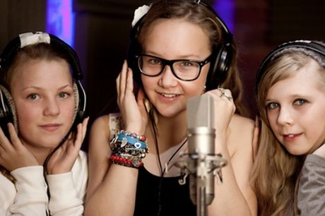 Popstar Recording Party for Up to Eight Children at Recording Experience