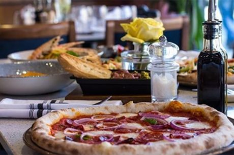 Two-Course Italian Meal for Two with Glass of Wine Each at Cibo Manchester
