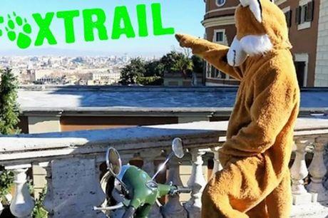 Avventura urbana per le strade di Roma per 2 o 3 persone con Foxtrail Play With The City (sconto fino a 29%)