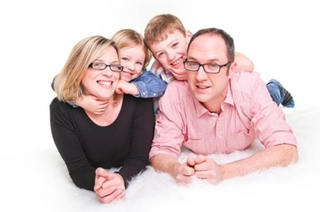 Family Photoshoot With Three Prints at J.Photographers North East
