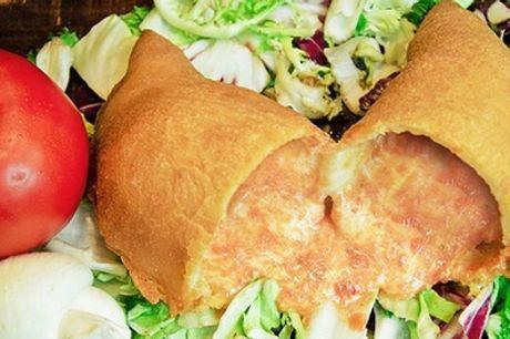 Menu di panzerotti pugliesi dolci e salati, focacce e bibita in zona Monteverde da Panzerotti And Friends (sconto 45%)