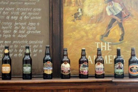 Brewery Tour with Tasting, Two-Course Lunch and Gift Pack for Up to Four at The Great Yorkshire Brewery