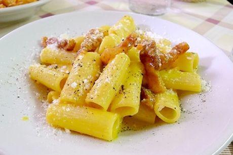 ⏰ Menu di coppia di 4 portate con calice di vino al ristorante Sphaeristerium (sconto fino a 46%) Prenota&Vai!