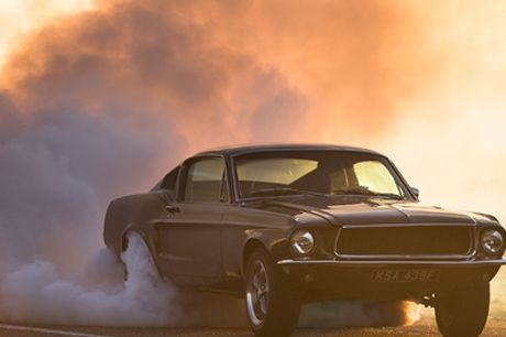 "14 Lap Ford ""Bullitt"" Mustang Experience Including High Speed Passenger Lap at Drift Limits"