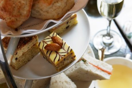 Afternoon Tea with Glass of Gin& Lemonade for Two or Four at Harben House