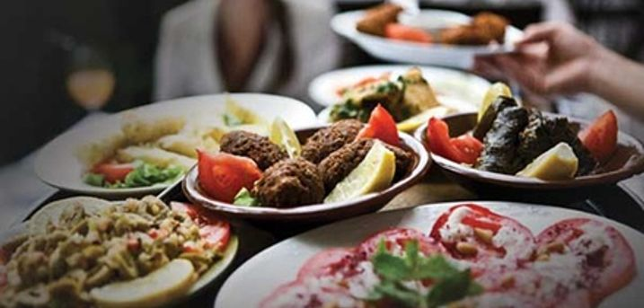 All-You-Can-Eat Greek Meze for Up to Six at Athena Palace Greek Taverna