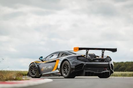 McLaren MP4-12C GT3 Experience for One or Two at Drift Limits