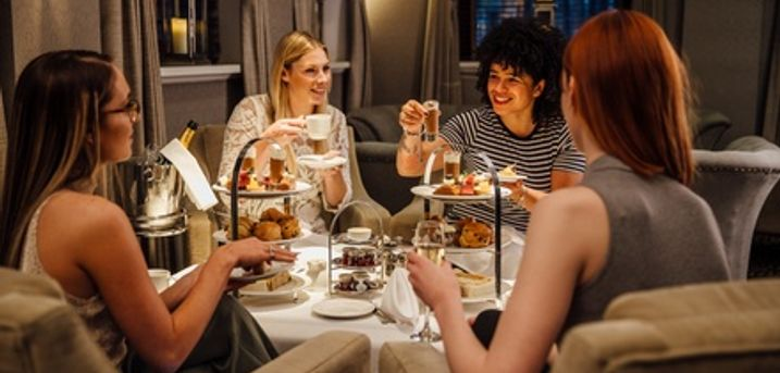 Traditional or Sparkling Afternoon Tea for Two or Four at Holiday Inn Luton South