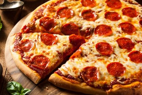 Pizza or Pasta and Beer, Glass of Wine or Soft Drink , 2 or 4, Carriages Bar and Restaurant