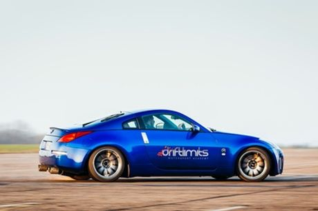 Supercar Passenger Ride in One or Two Cars, Nissan Passenger Drifting Ride or Ultimate Passenger Ride with Drift Limits