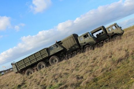 Army Truck Driving Experience or Passenger Ride at Challenger