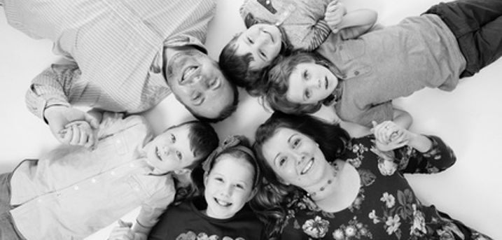 Family Photoshoot With Three Prints or Photo Calendar at Maria Barry Photography