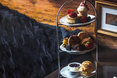 Afternoon Tea with Aqua Spritz or Glass of Prosecco for Two or Four at AM:PM Bohemian Restaurant